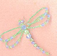Swarovski Crystal Dragonflly Pin