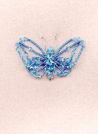 Swarovski Crystal Butterfly Pin