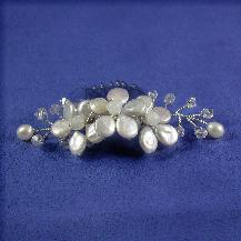 Bridal comb, wedding, headpiece, pearl and crystal headpiece, mini comb, hair accessories, bridal accessories
