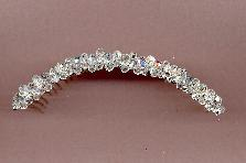 Swarovski Crystal band comb